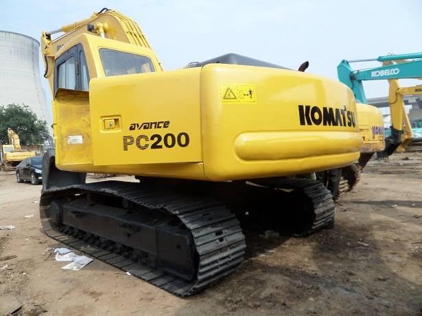 Used KOMATSU PC200-6 Excavator