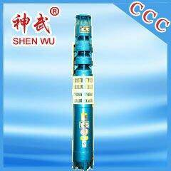 10m3/h, 54m cast iron high efficiency submersible water pump