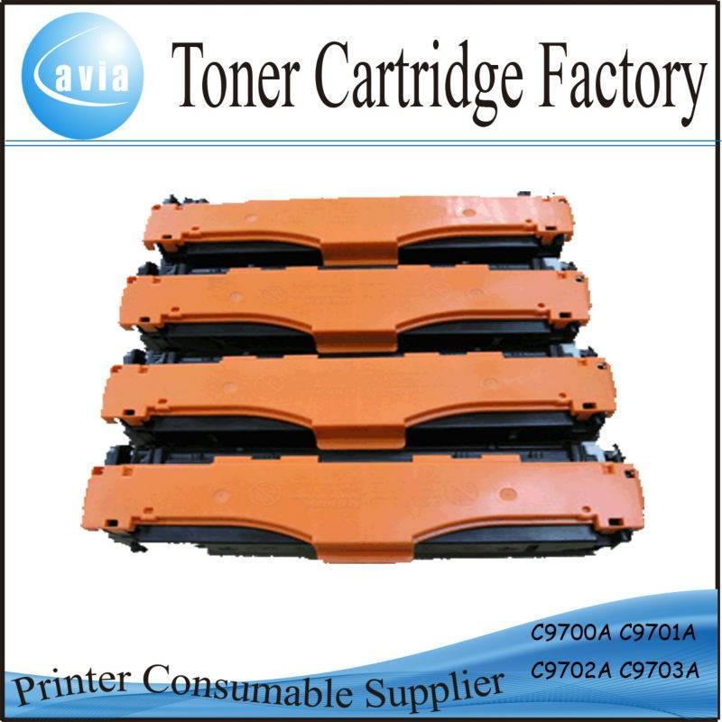 High quality printer cartridges c9700 for hp laser printers