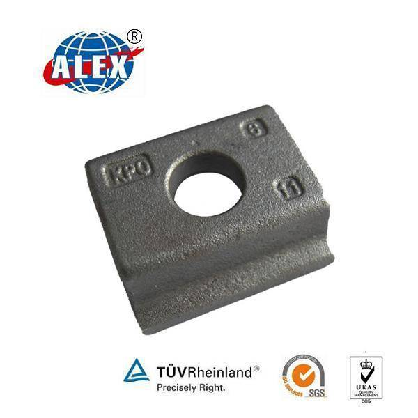 KPO3 Railway Clamp, HDG Finished Clamp