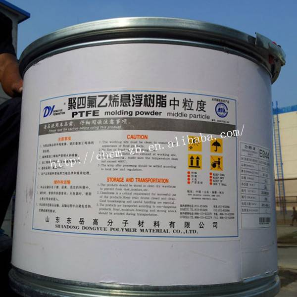PTFE Molding powder medium particle for sheet