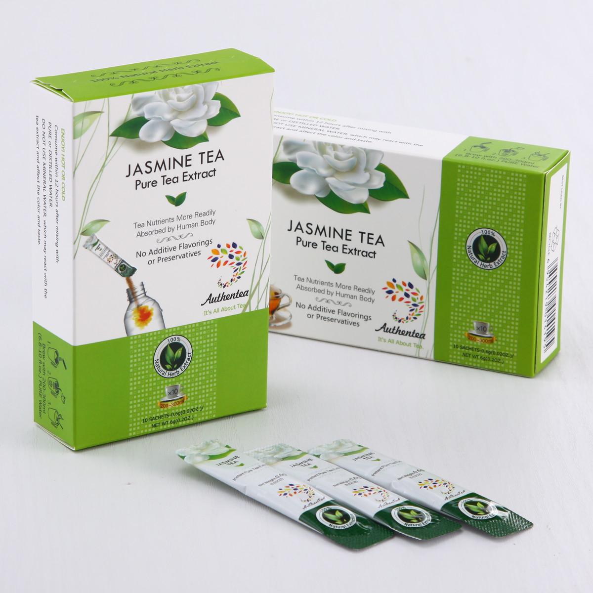 Instant Jasmine Green Tea for Fisher