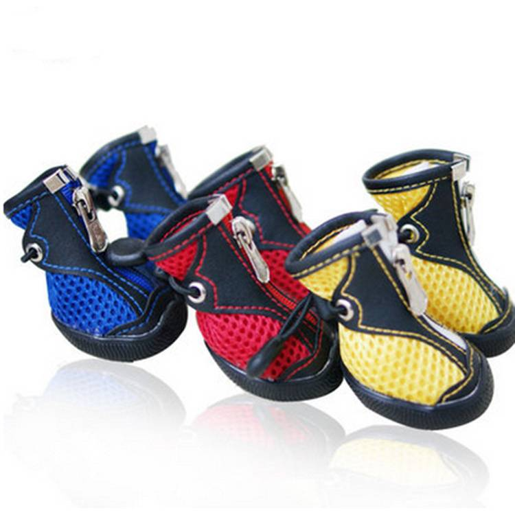 Air Mesh Dog Shoes for Summer Pet Products