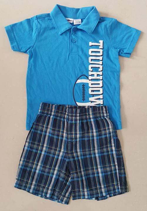 baby T shirt and short sets