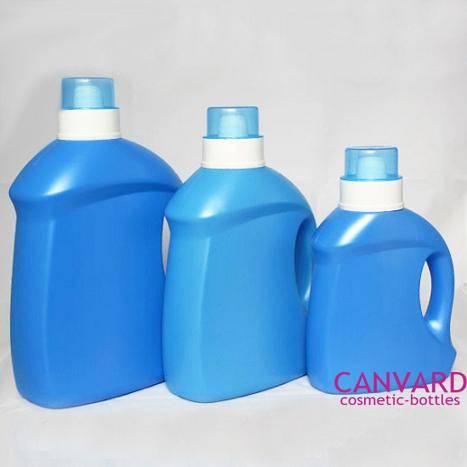New liquid laundry detergent bottle with spout