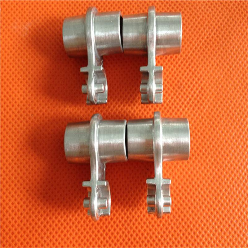 cnc machined aluminum connector adapter nut