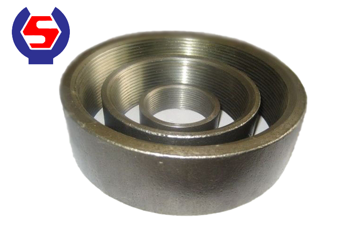 seamless steel pipes half coupling