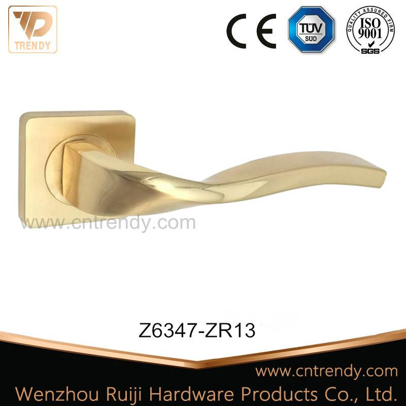 LHot! Zinc Door Lever ock Handle with 22k Color (Z6347-ZR13)