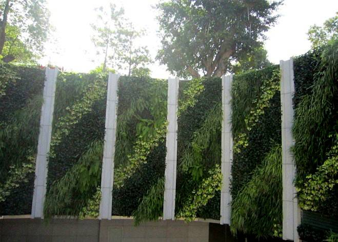 2014 Good quality artificial plant wall high imitation fake plant wall evergreen artificial plant wa