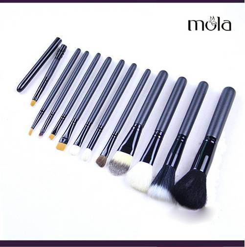 Canister makeup brushes set 12pcs