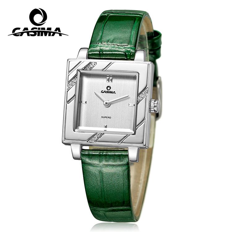 Green color fashion quartz watch for ladies