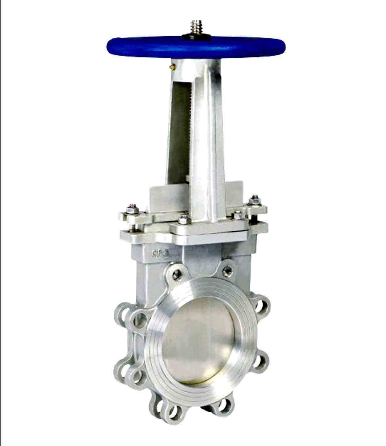 Rising & Non-Rising Stem Resilient Seated Flange Knife Gate Valve