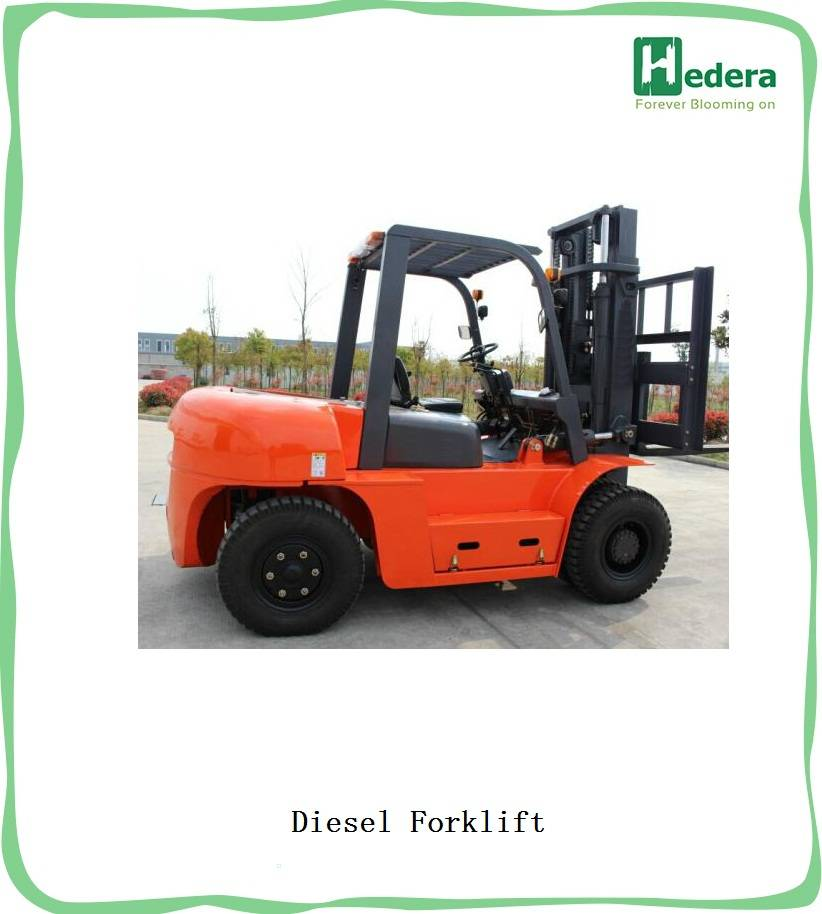new appearance design is similar to TCM,more streamlined 3ton diesel forklift