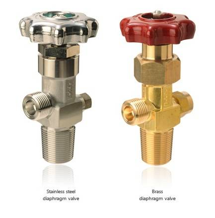 Cylinder Valve  High-pressure gas cylinder valves - Diaphragm Valves