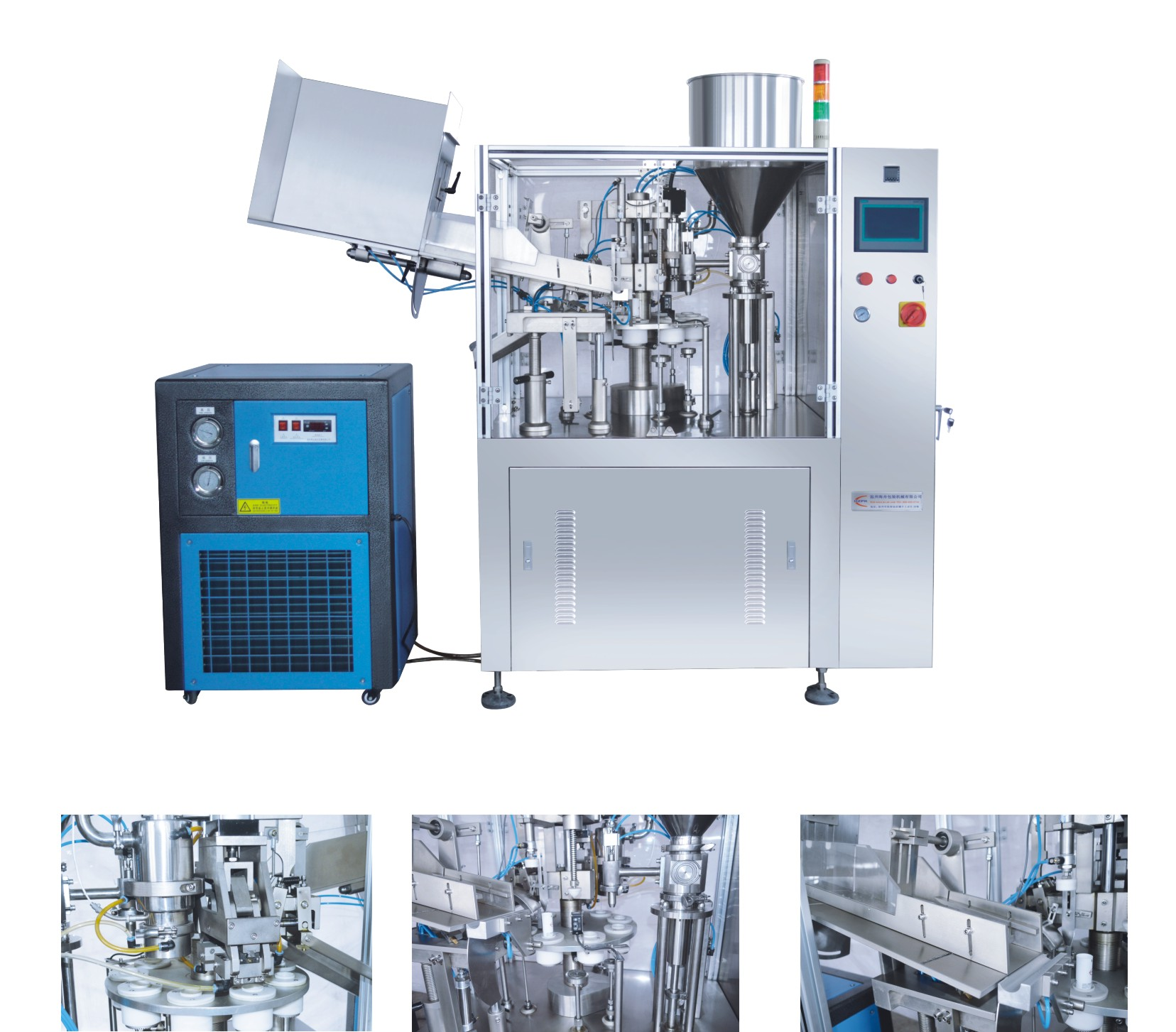 Automatic Plastic Tube Filling Sealing Machine Liquid/Paste Filler Sealer