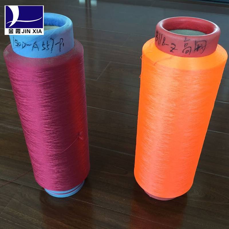 Factory 100%polyester DTY yarn FOR SALE