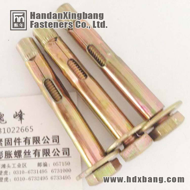 hex bolt sleeve anchor factory in China Handan Yongnian
