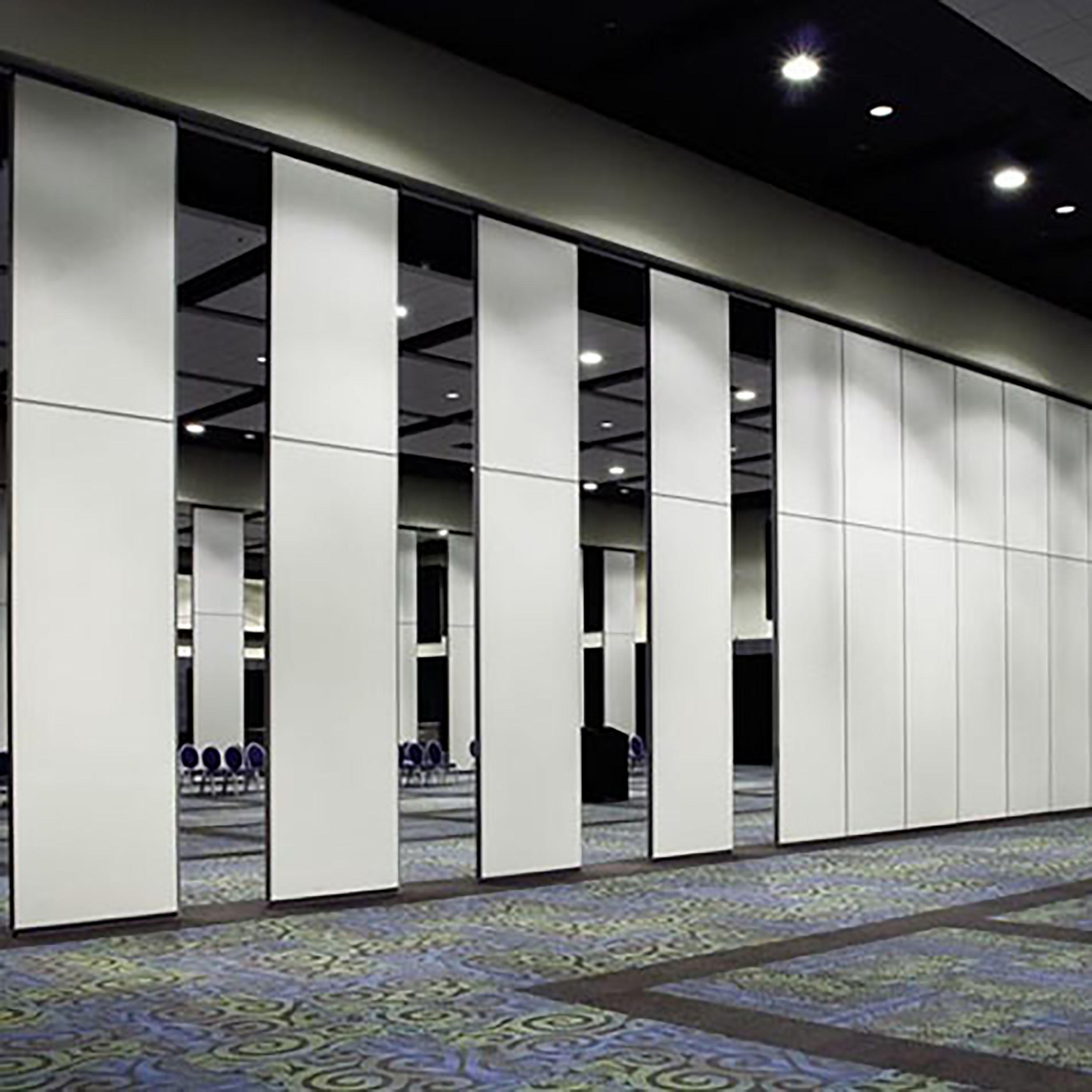 Exhibition Movable Partition Full Height Portable Walls