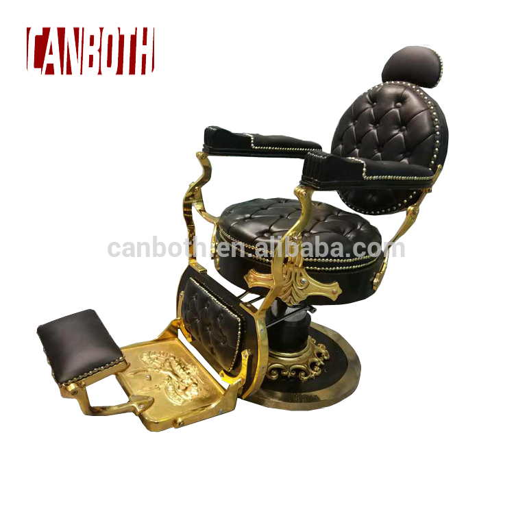 Luxury salon vintage barber chair antique for hair salon supplier CB-BC001