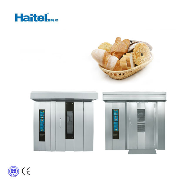 High quality automatic rotary oven machine
