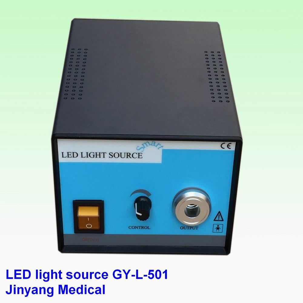 New portable medical endoscope LED light source 80W