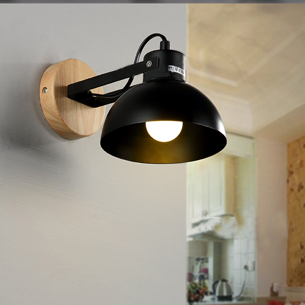 Loft Warehouse Shade Gooseneck Barn Wall Sconce lamp
