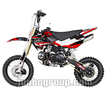 Dirt Bike KLX Pit Bike 110cc/125cc with KTM Style Exhaust