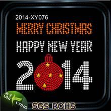 Product  Name                   2015 Happy New Year Rhinestone Transfers Hotfix