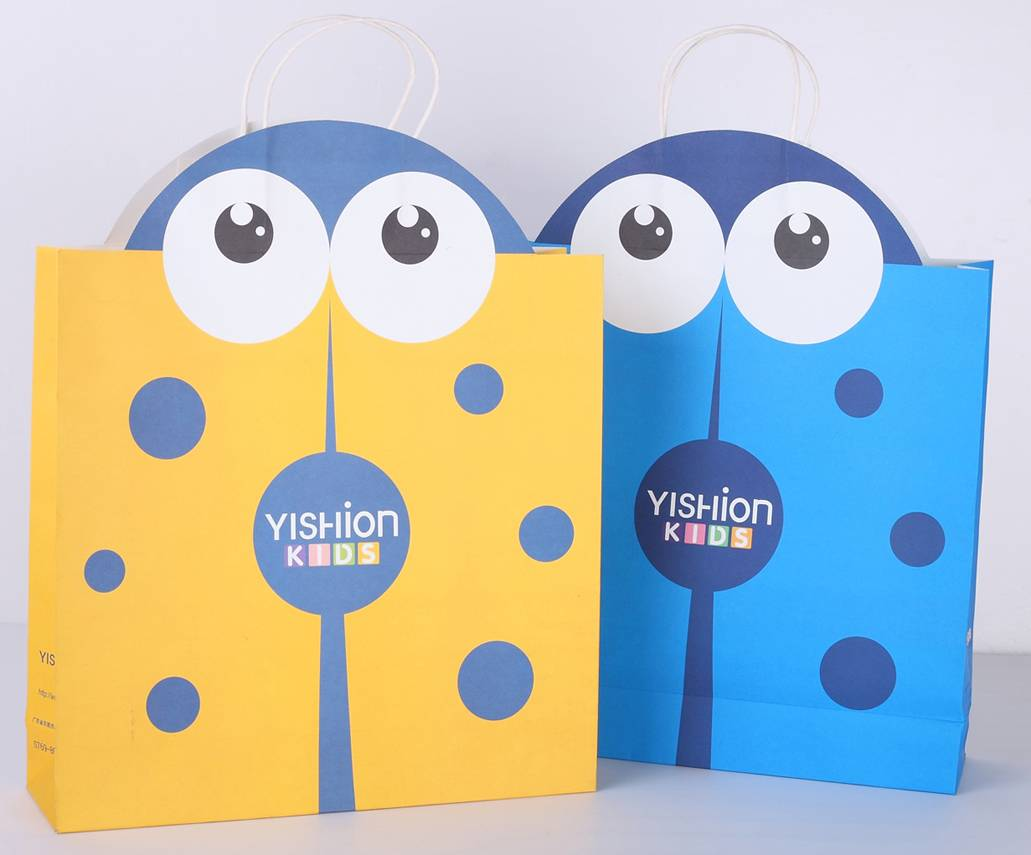 shopping paper bags wholesale/Kraft paper bags
