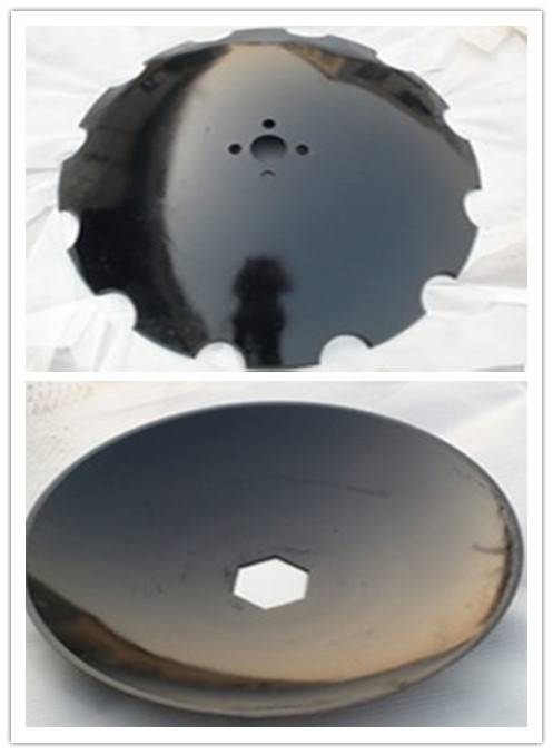 Notched 65Mn steel disc blade