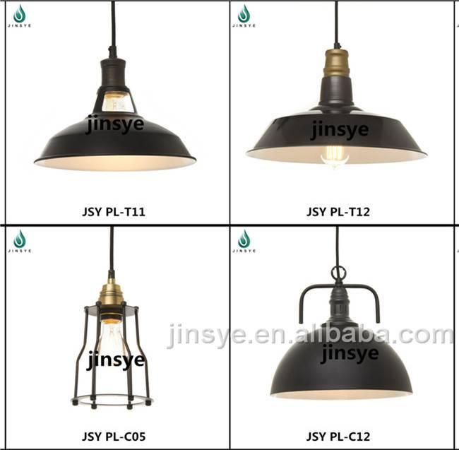 Vintage hanging pendant lamp