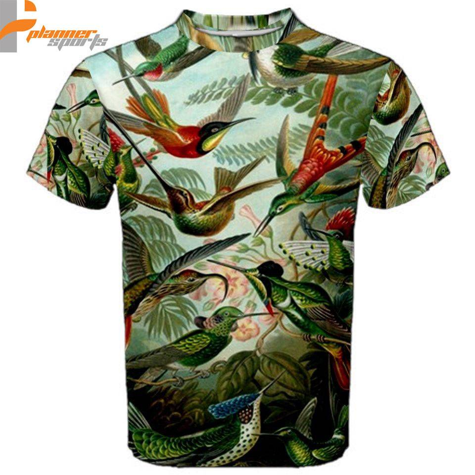 Hummingbird Collage Sublimated Sublimation T-Shirt S,M,L,XL,2XL,3XL