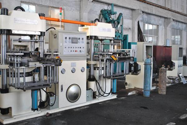 YT73 Hydraulic press for rubber vulcanized