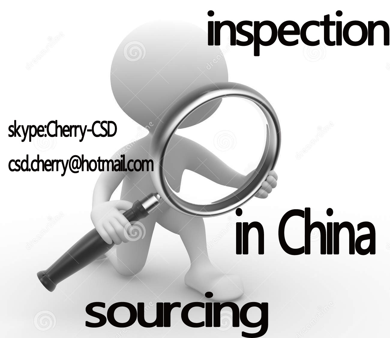 Products Inspection, Quality Control (QC) Inspections, Loading Supervision,