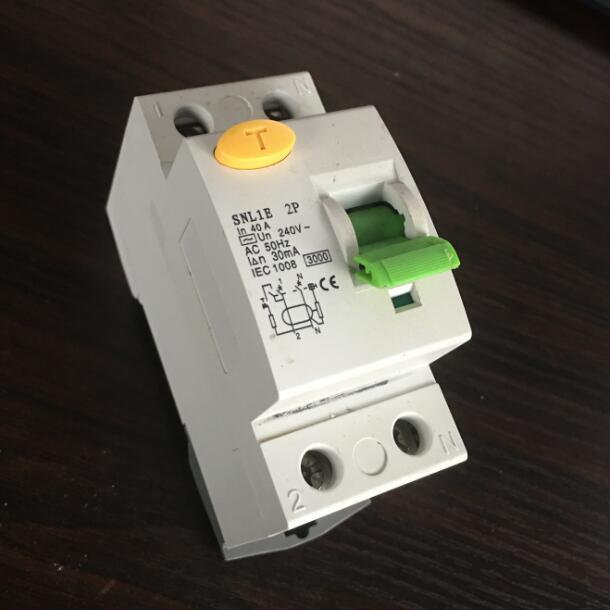 C60 RCCB/ELCB/RCD (Abb type new model )2P/4P residual circuit breaker