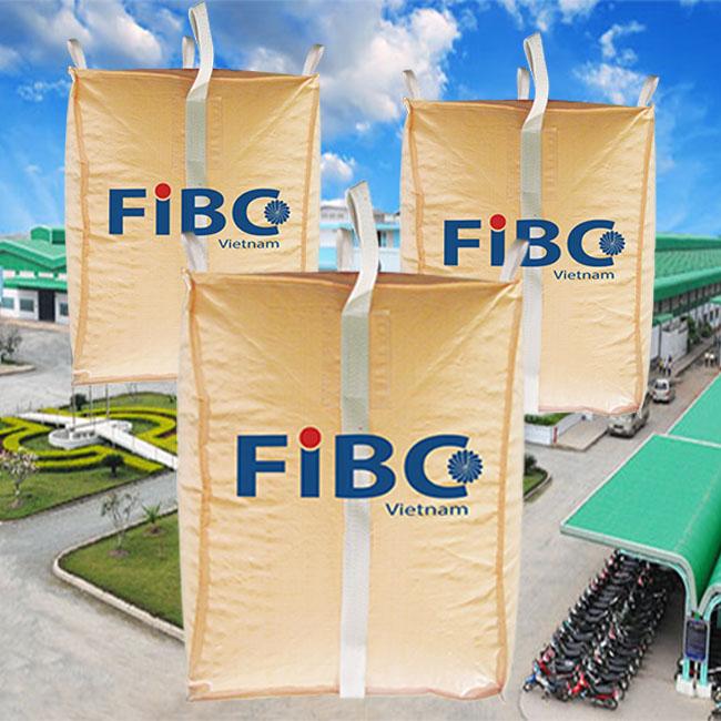 Fibc bag, pp woven bag, jumbo bag, super sack, container bag in Vietnam for wholesales