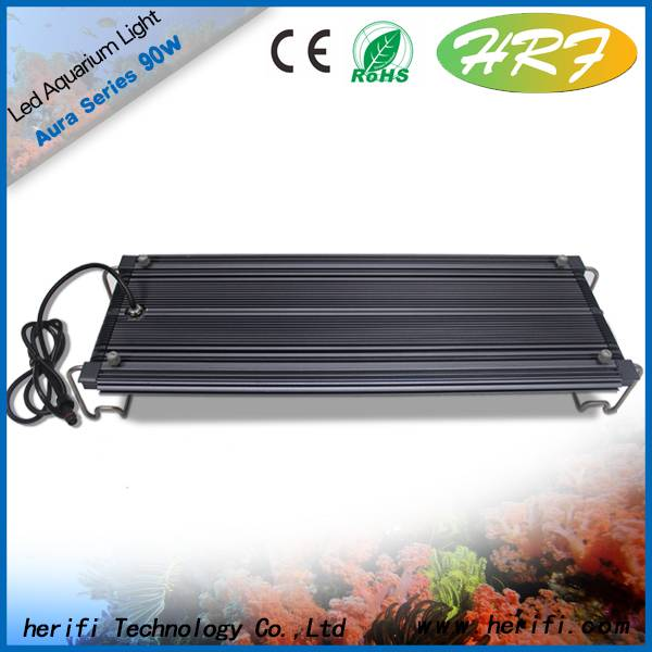 LED aquarium light waterproof fish tank light coral growth light aquatic plant light