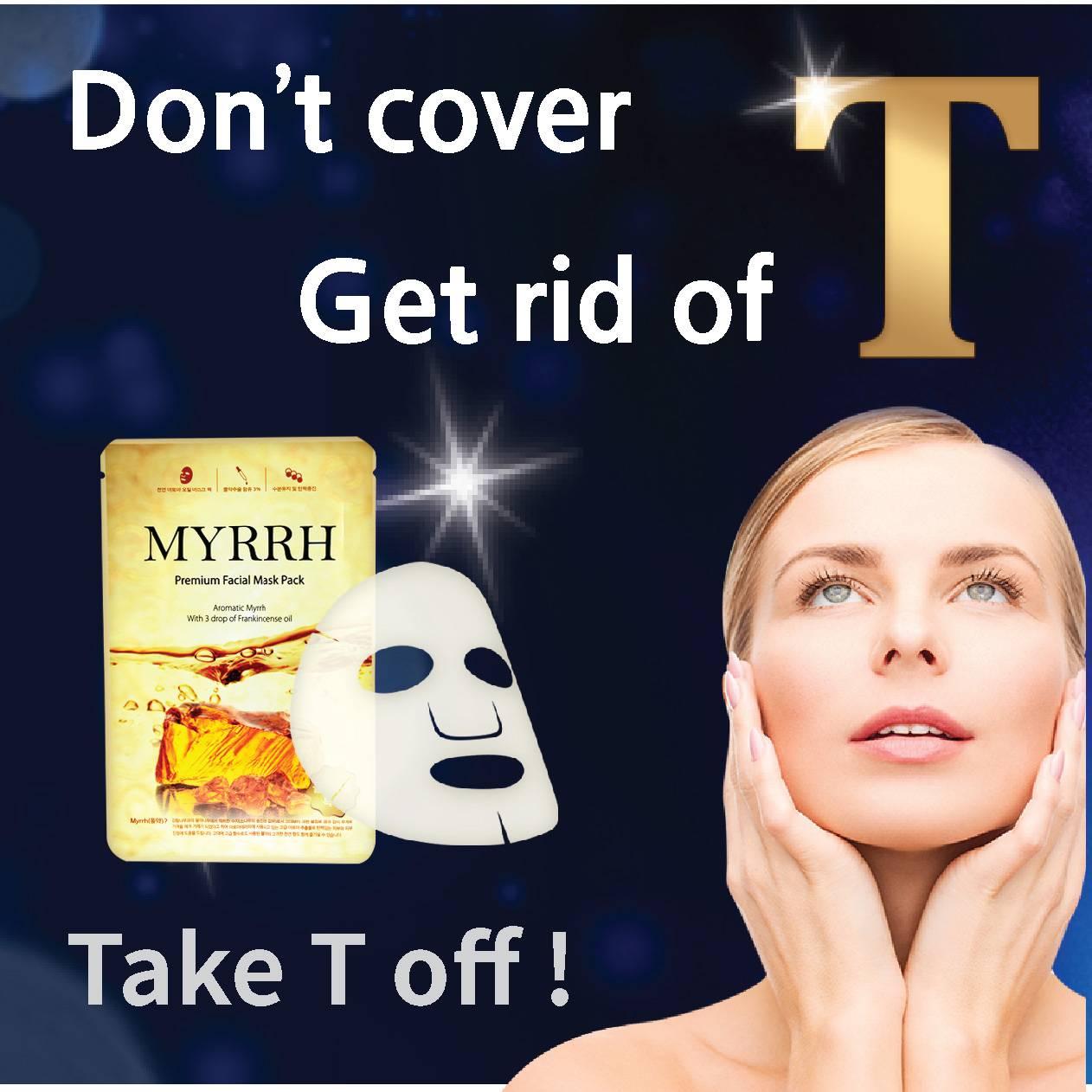 Myrrh mask pack