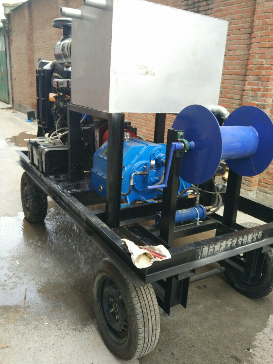 Diesel Drive High Pressure Water Jet Cleaner Cleaning Equipment