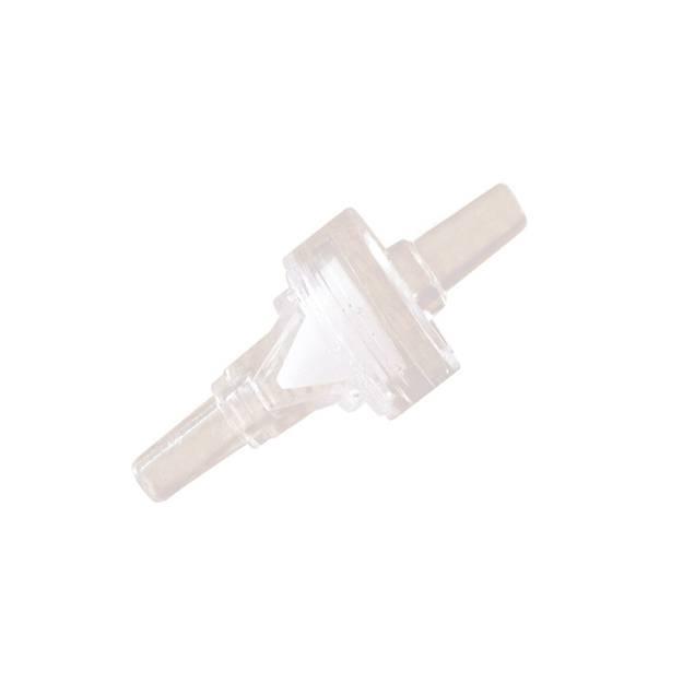1/8 inch port medical grade plastic duckbill check valve