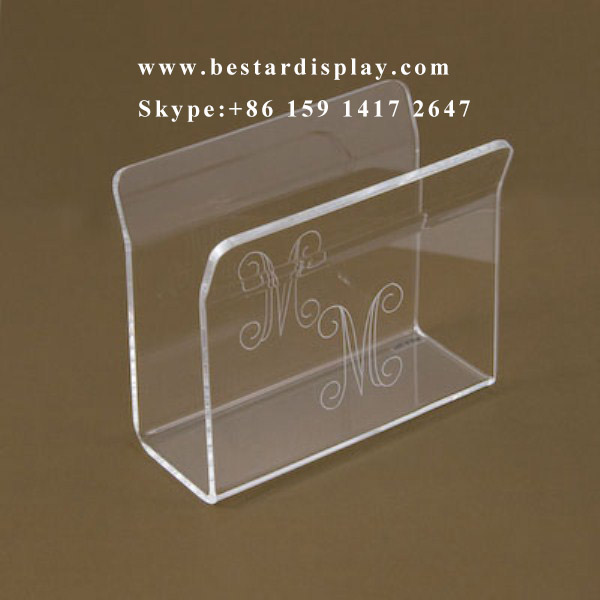Good quality customized Plexiglass PMMA acrylic napkin holder