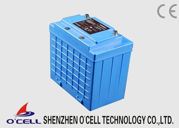 OCELL Lithium Deep Cycle battery 12V40Ah LiFePO4 Battery Pack for Portable Power