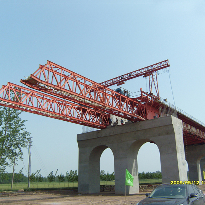 Drawing customized 450 ton underslung movable scaffolding system