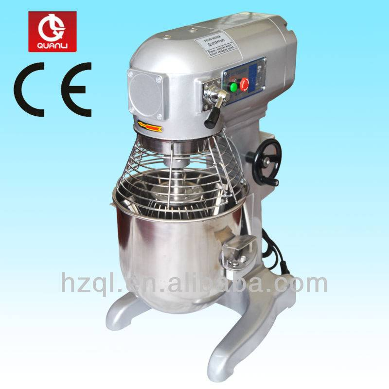 20L CE approved planetary dough mixing machine/cake mixer