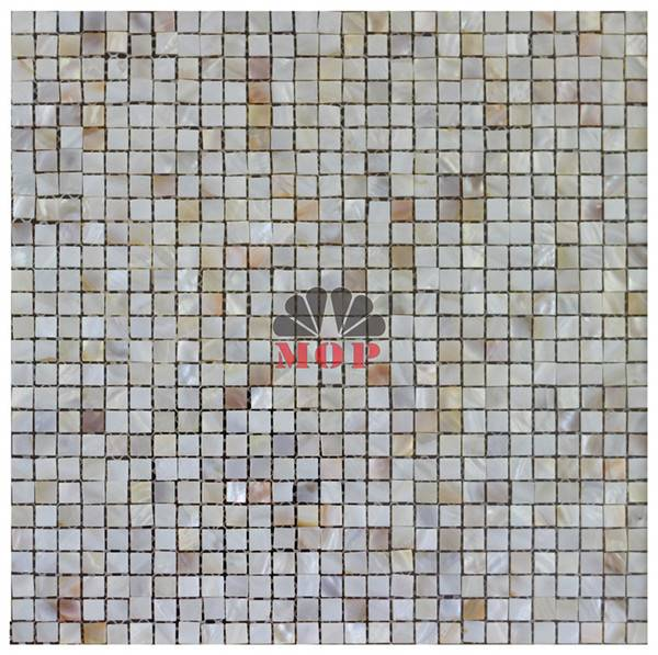 chessboard mother of pearl mosaic wall tile
