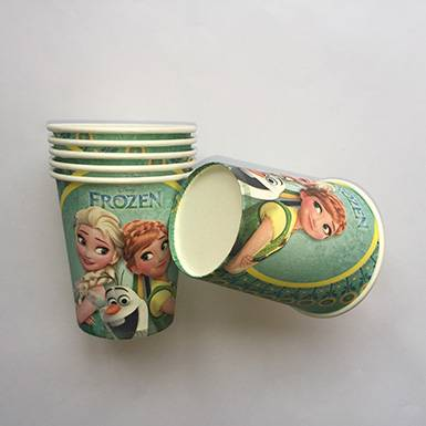 Wholesale colorful custom Cinderella Party Paper Cups