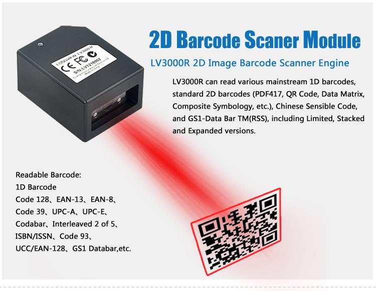 barcode label scanner LV3000R thermal barcode printer reader