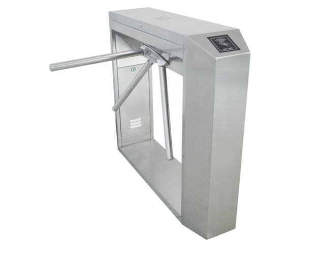 TCP/IP access pass rfid dual tripod turnstile use for gym
