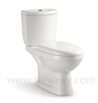 sanitary ware toilet two pc WC toilet commode