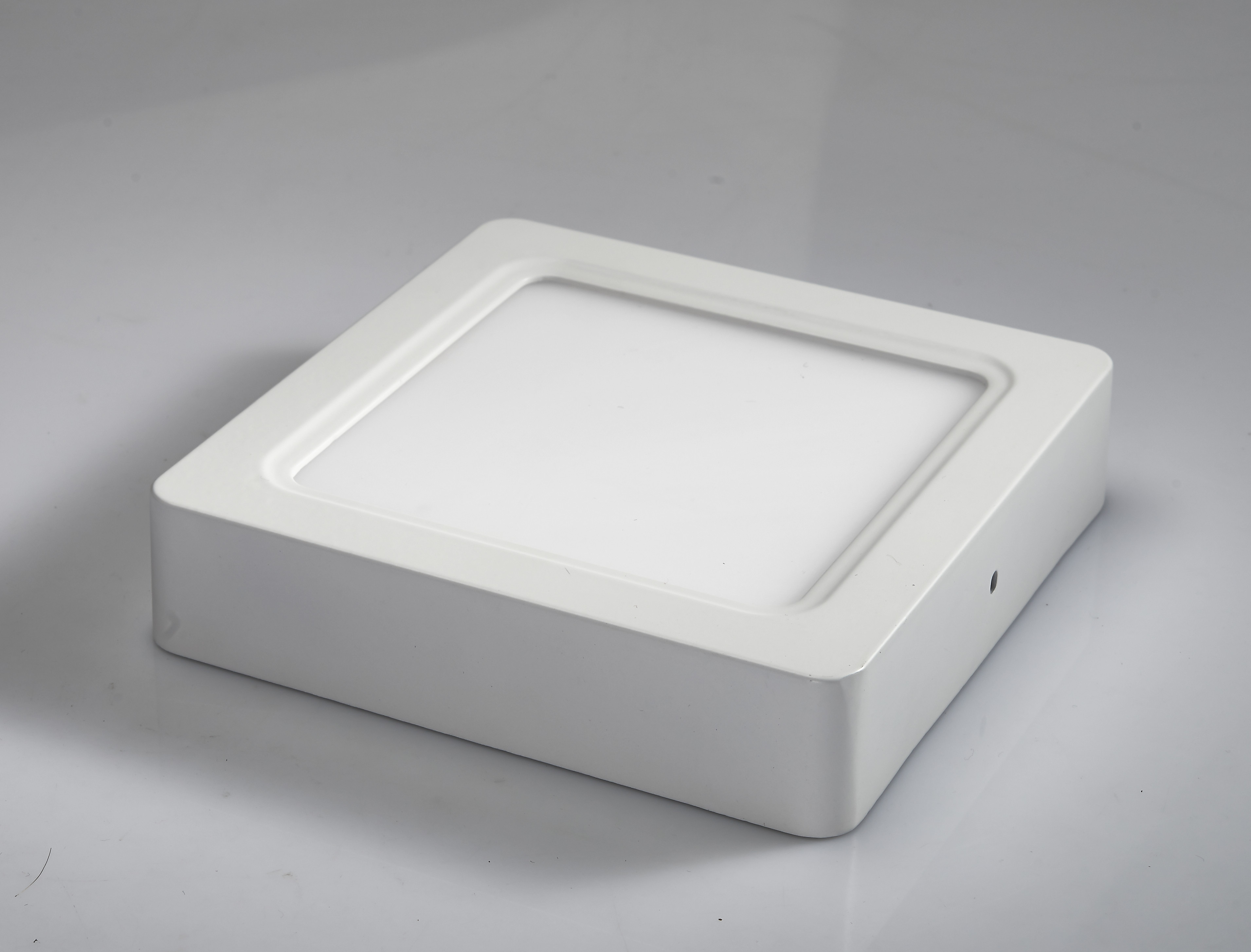 12W surface mounted LED square panel ceiling light with Two years warranty, LVD and EMC of CE